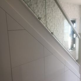 Glass Panel Stairs